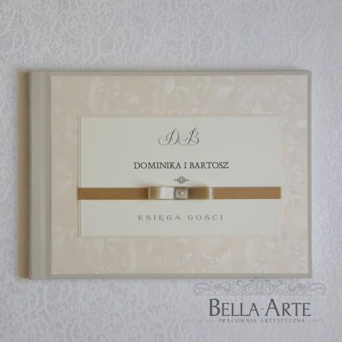 Księga gości weselnych Verona krem