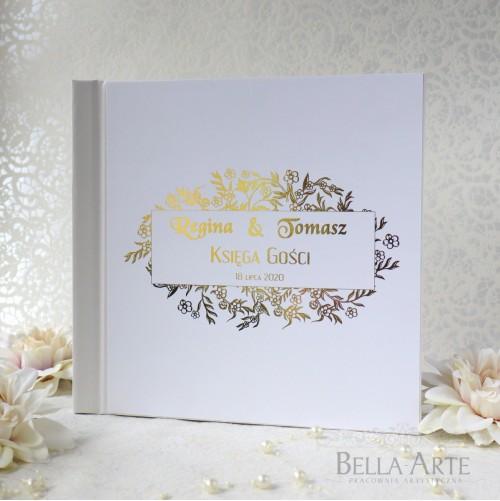 Złocona Księga Gości Glamour