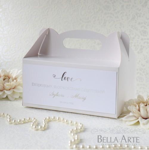 Pudełko na ciasto Love