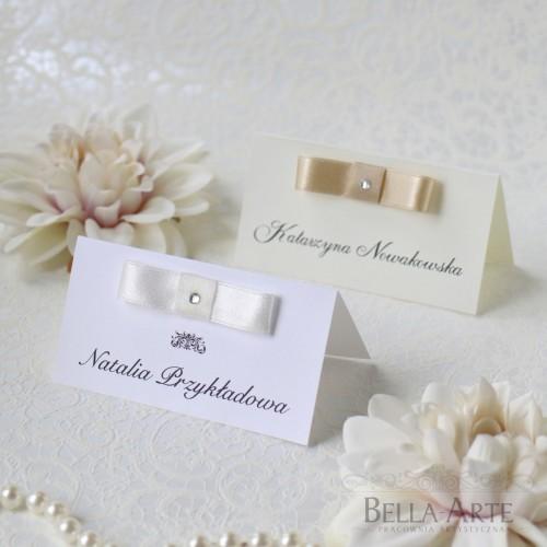 Winietki weselne dla gości Elegante