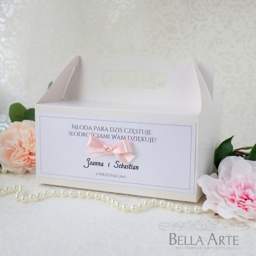 Pudełko na ciasto Elegante