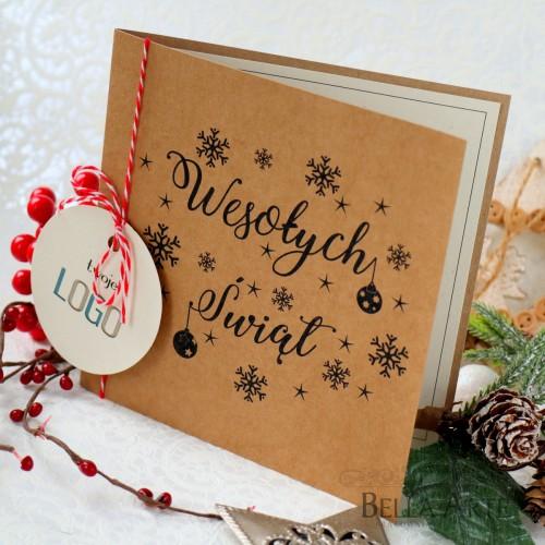 Kartki świąteczne EKO dla firm