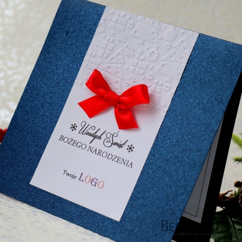 Kartki świąteczne firmowe z logo