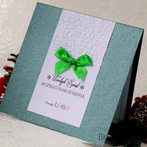 Kartki świąteczne dla firm z logo
