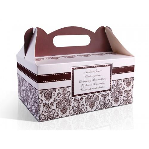 OSTATNIE SZTUKI Pudełko na ciasto