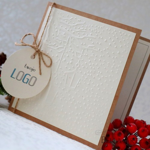 Kartki świąteczne eko firmowe