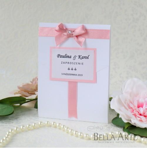 Zaproszenia ślubne Elegante