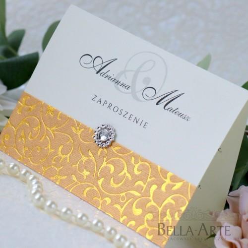 Delikatne zaproszenia ślubne