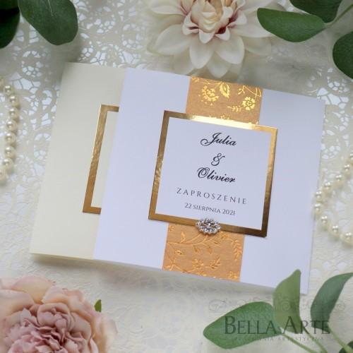 Zaproszenia ślubne romantyczne