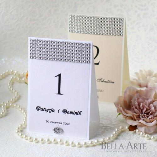 Numer stołów Glamour