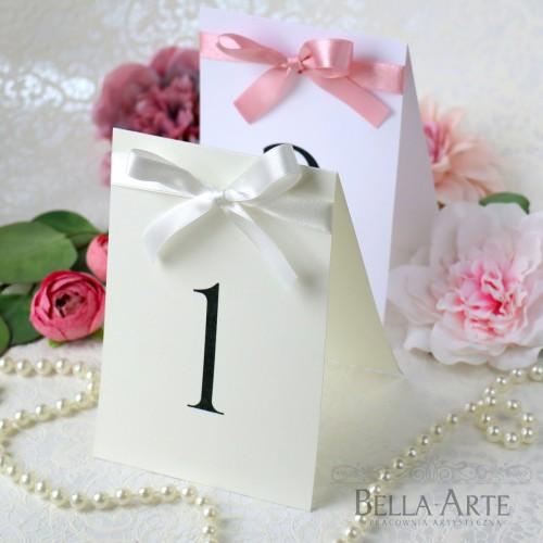 Eleganckie i Proste Numery stołów weselnych