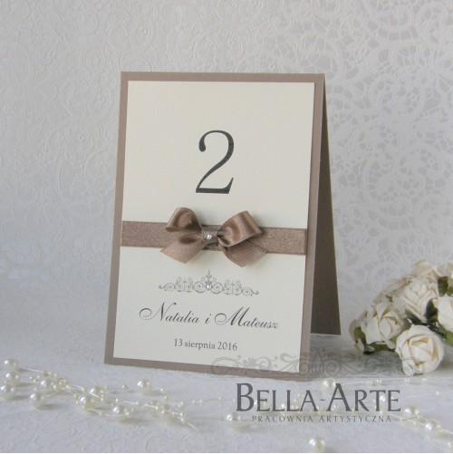 Numery stółów weselnych Vittoria