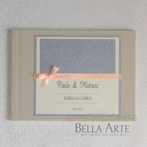 Księga gości weselnych Massimo krem