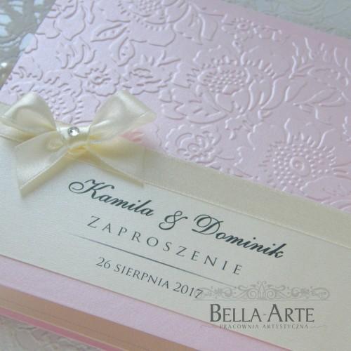 Zaproszenia perłowe Massimo
