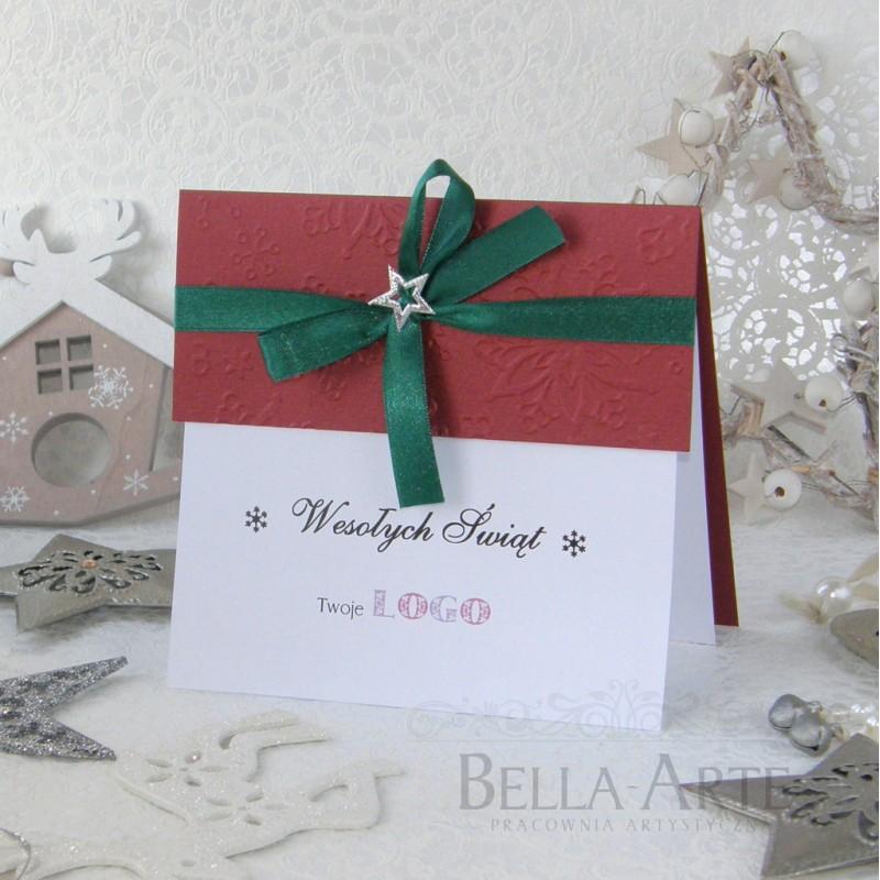 Kartki świąteczne biznesowe dla Firm