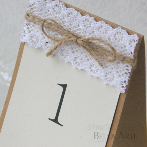 Numery stółów weselnych EKO